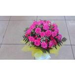 букет №1 из розовых роз