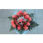 букет № 3 из розовых роз
