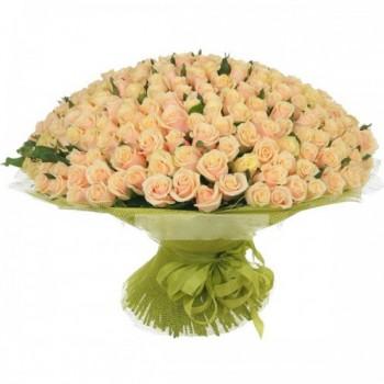 букет № 21 из нежно-розовых роз