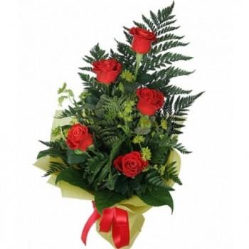 Букет № 20 из красных роз