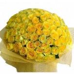 букет № 22 из 101 желтой розы