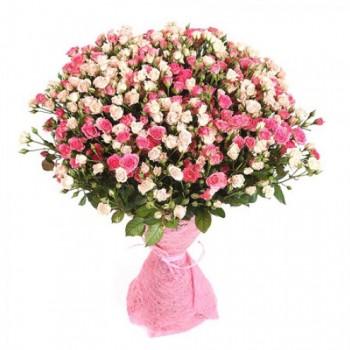 Букет № 24 из кустовых роз