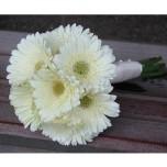 Букет невесты № 9 из белых гербер