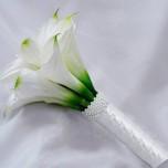 Букет невесты № 17 из белых каллов