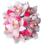 Букет невесты № 18 из орхидей