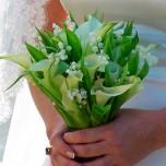 Букет невесты № 20 из ландышей