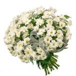 букет из белых хризантем № 2